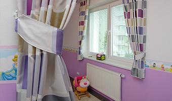 Záclony a závesy - obrázková galéria - Detské izby a spálne