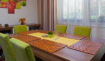 Záclony a závesy - obrázková galéria - Kuchyne a jedálne