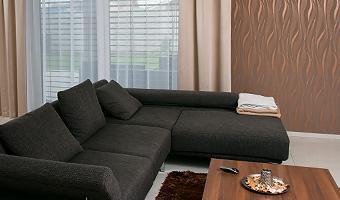 Záclony a závesy - obrázková galéria - Obývacie izby